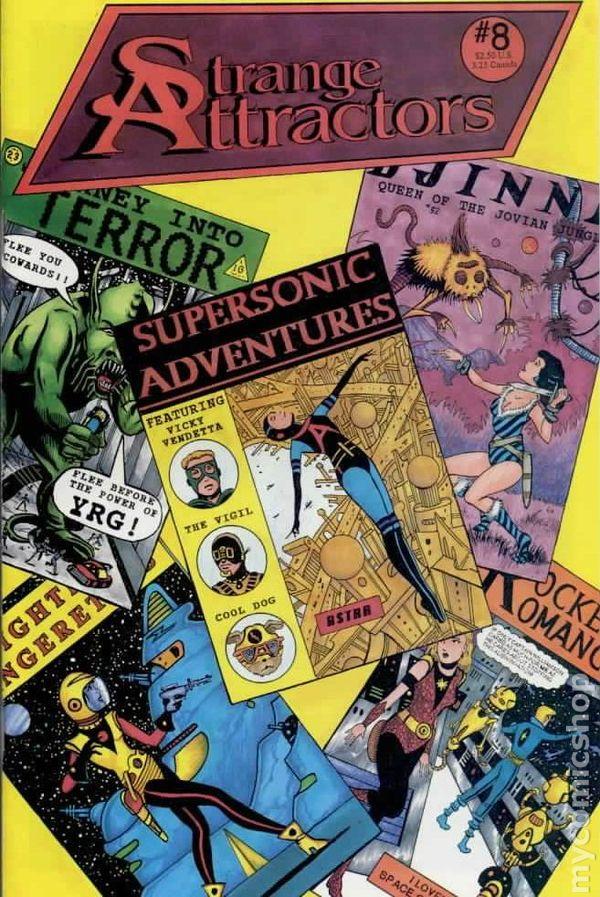 Strange Attractors Cover 8